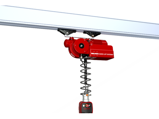 ELECTRONIC BALANCER - Quick-lift Arm QLAi – for rail systems